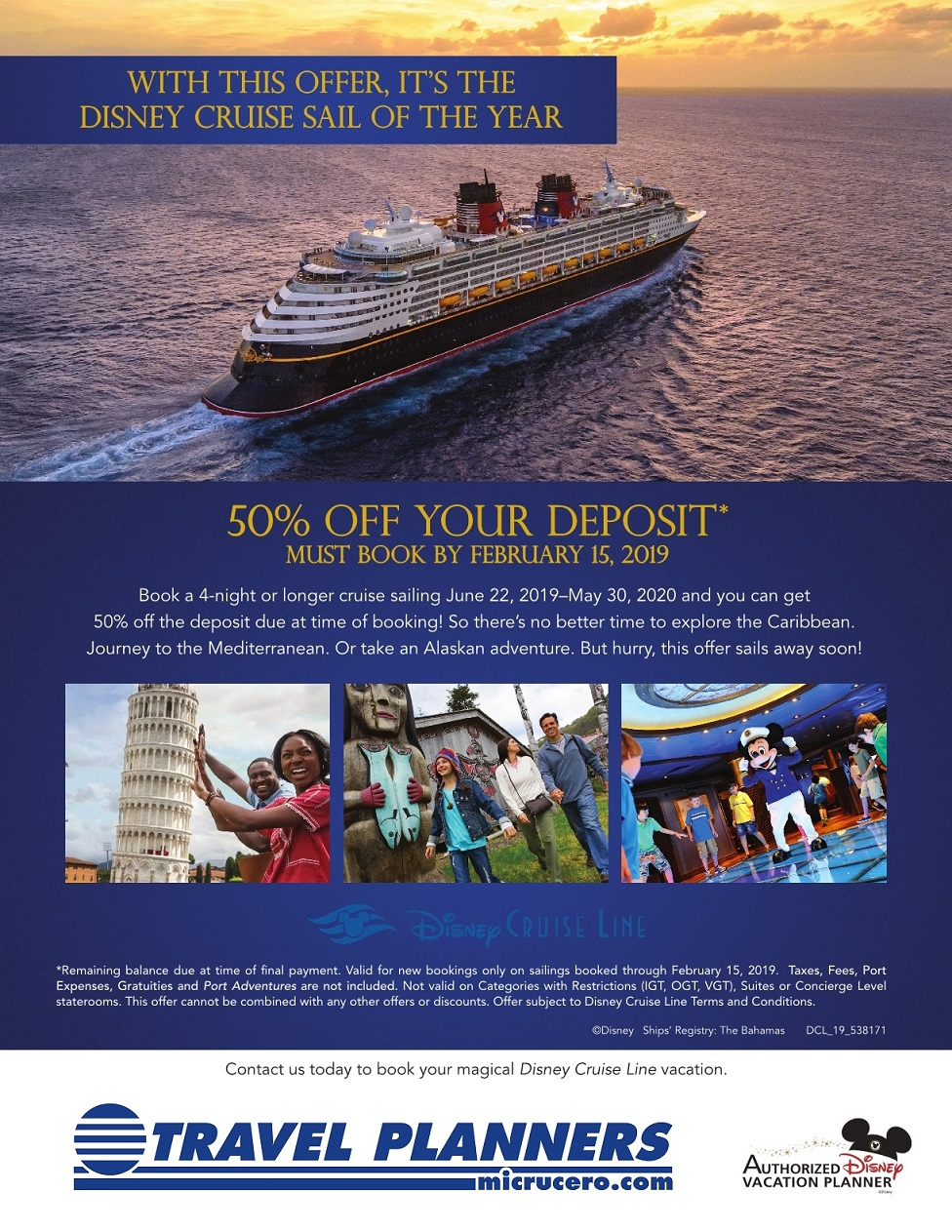 DCl 19 538171 50 Off Deposit