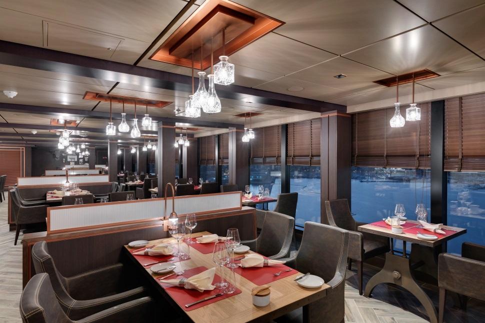 Opciones gastronómicas en el MSC Seaside