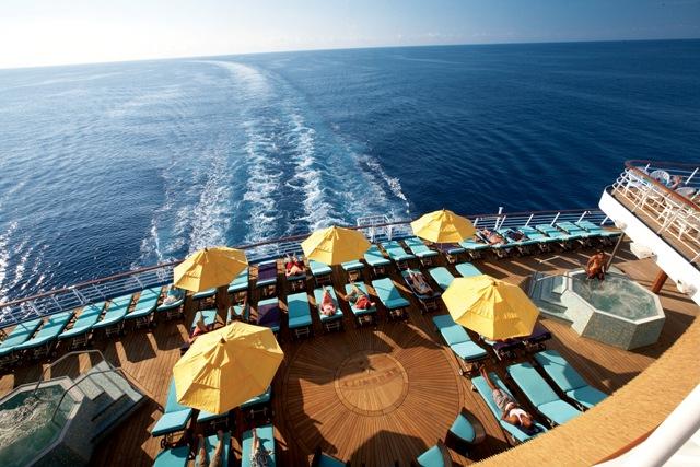 Serenity, para adultos y gratis en barcos de Carnival