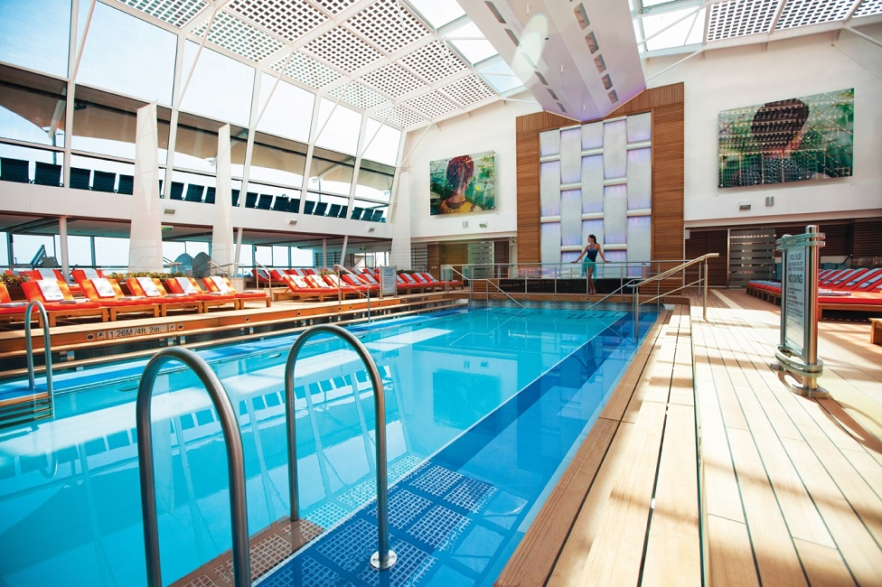 Siete razones para navegar en barcos clase Solstice de Celebrity Cruises