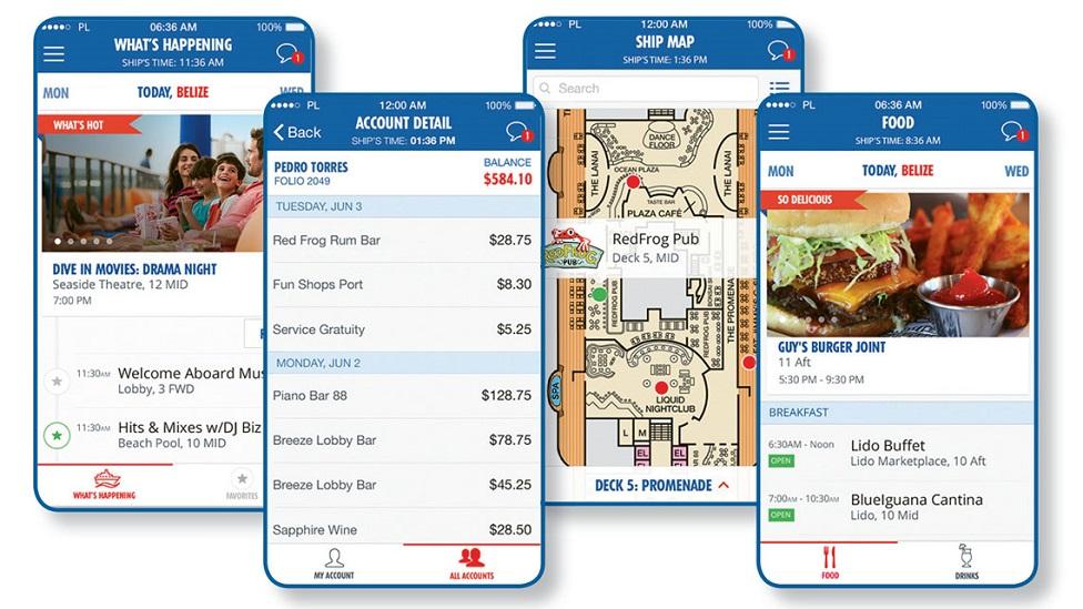 Mira el App de Carnival con el que maximizas la diversión