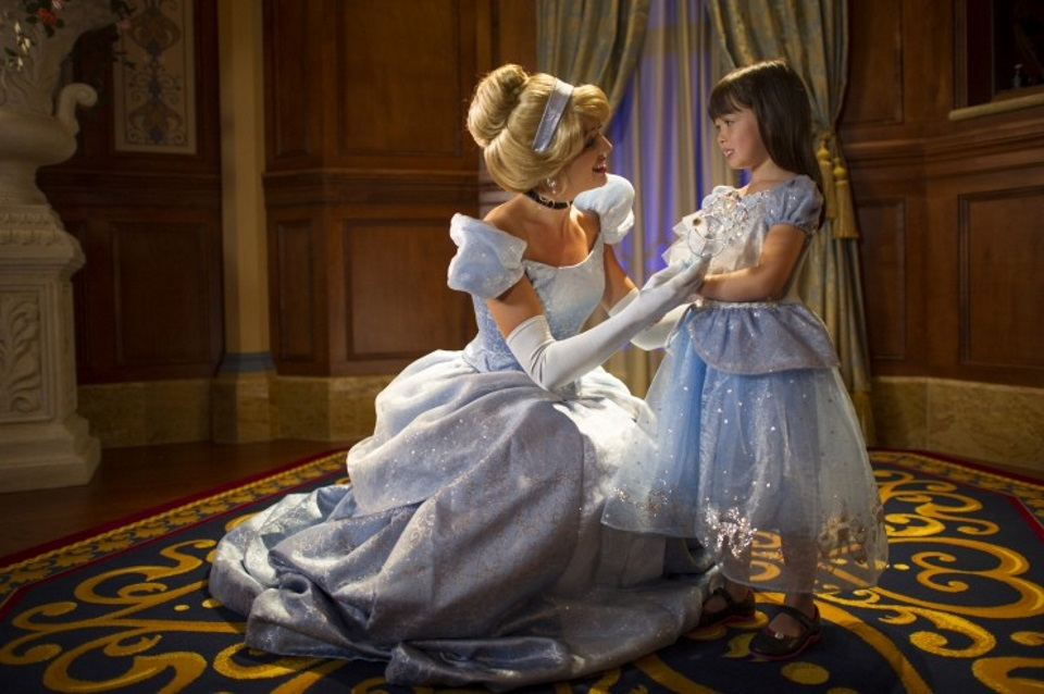 Cómo ver princesas de Disney en Magic Kingdom