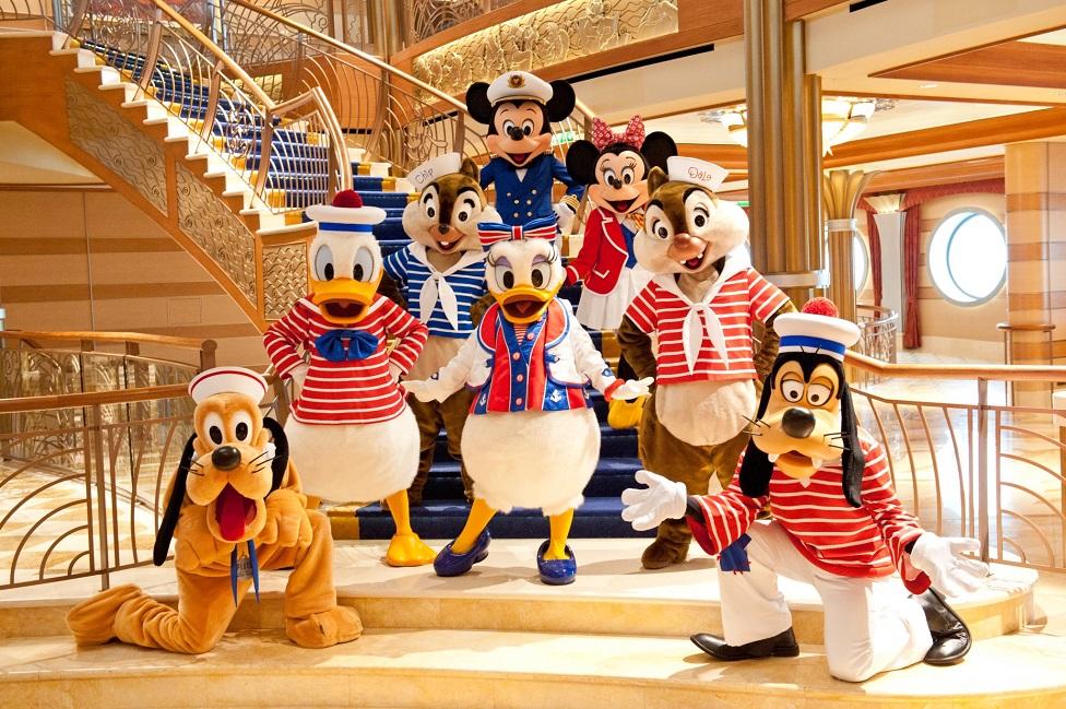 Ocho cosas únicas de los cruceros de Disney