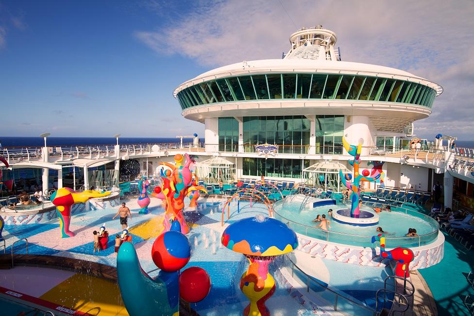 A disfrutar de las atracciones acuáticas en el Freedom of the Seas