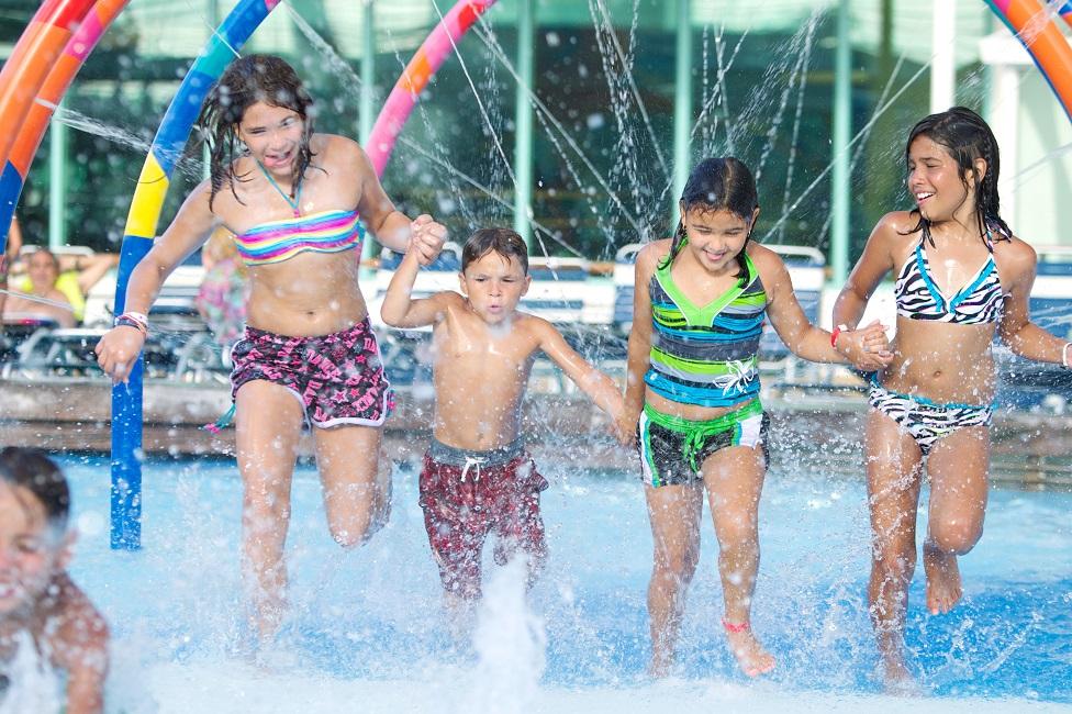 Para niños y jóvenes también hay muchas actividades en el Freedom of the Seas