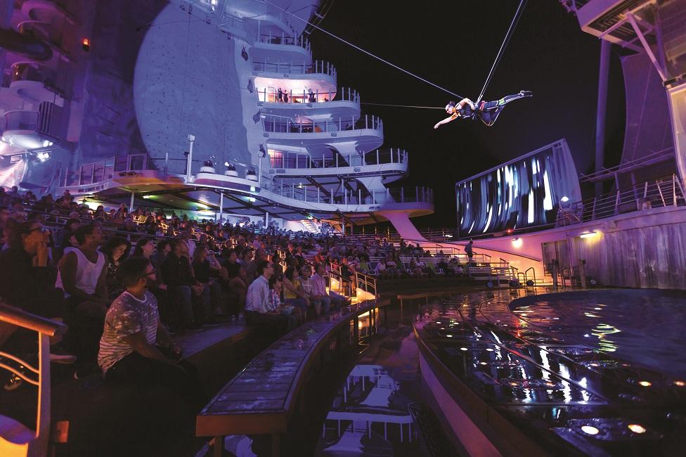 A disfrutar con los shows del Harmony of the Seas