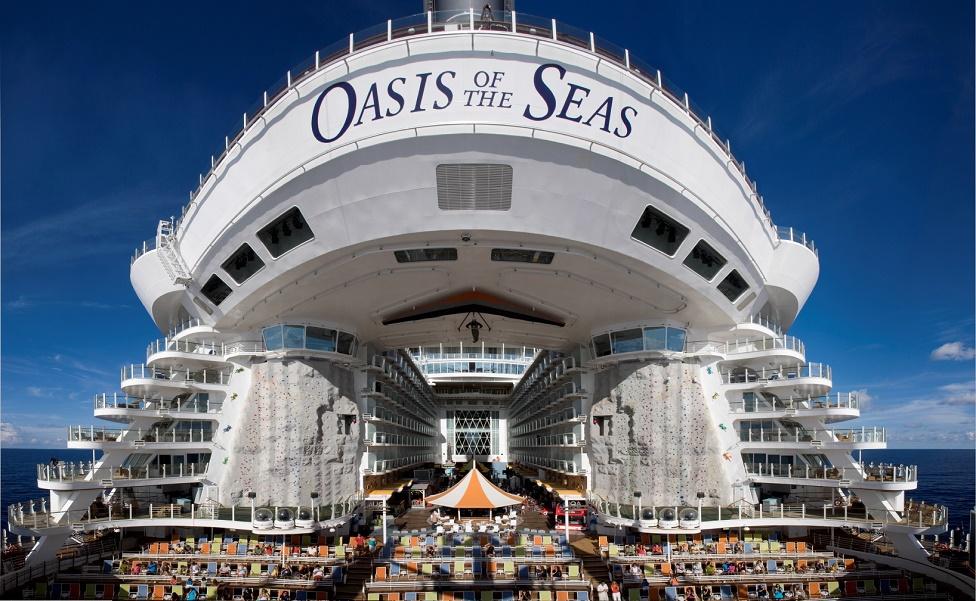 El Oasis of the Seas sale desde Puerto Cañaveral en Orlando
