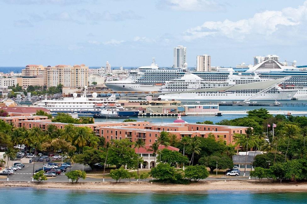 Cruceros visitando San Juan Julio 15 - 21