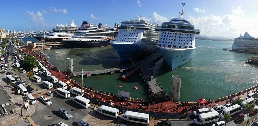 Cruceros visitando San Juan, PR / Agosto 19-25