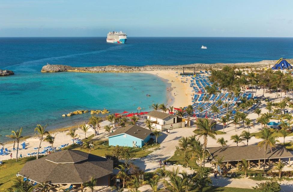 Conoce Great Stirrup Cay, la isla de Norwegian Cruise Line en las Bahamas