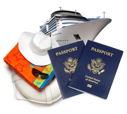 ¿Se necesita pasaporte y visa para viajar en crucero?