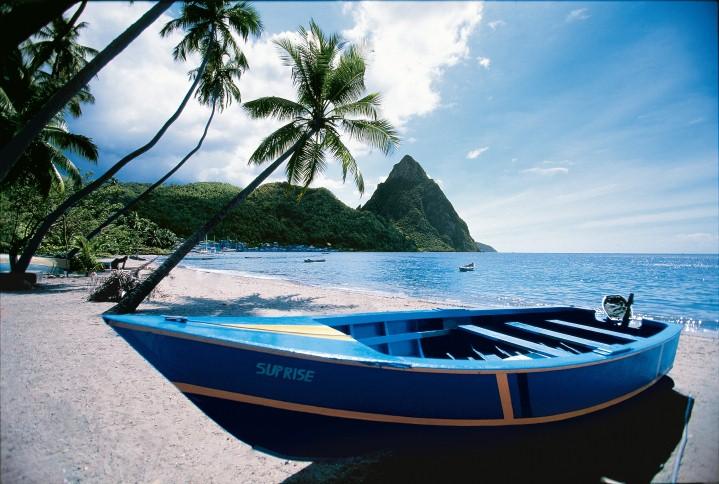Muchas de las islas del Caribe no fueron afectadas por los huracanes