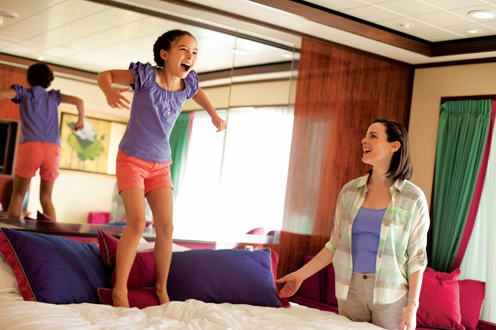 Prepárate para navegar en familia