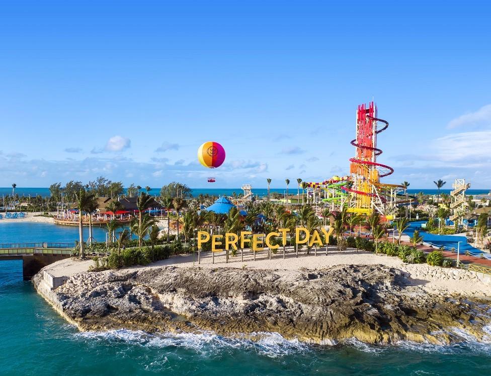 Visita dos veces CocoCay, la isla de Royal Caribbean, en un mismo viaje