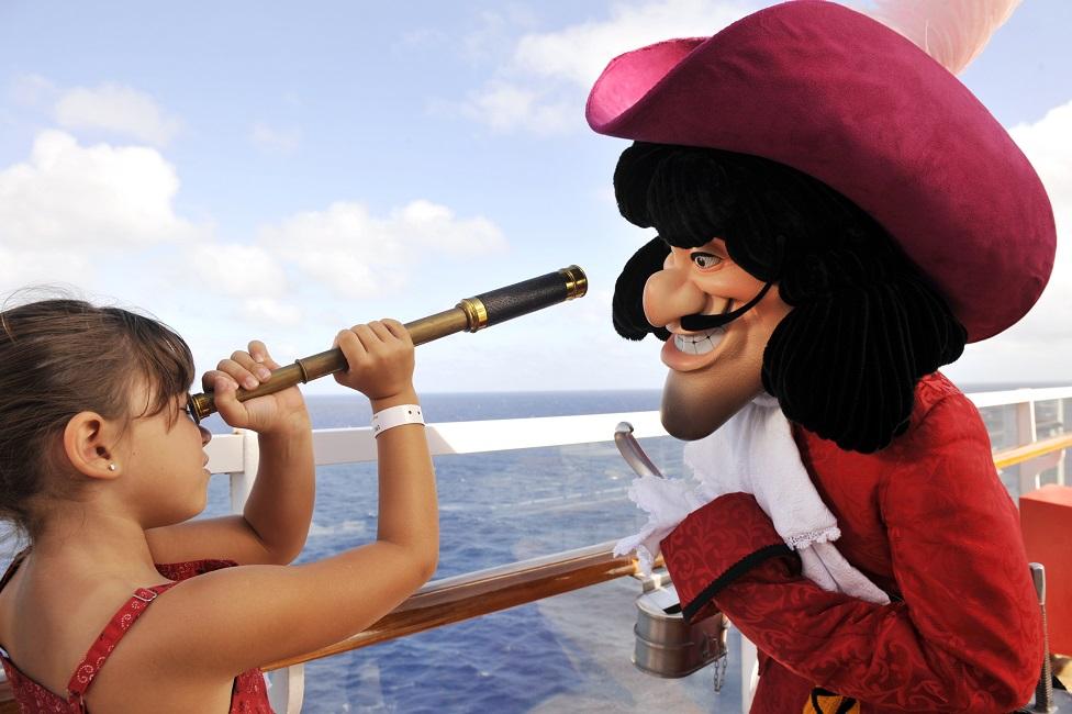 Navega desde aquí en el Disney Wonder y Disney Magic