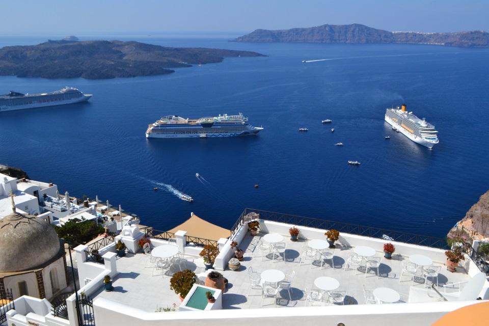6 puertos de crucero espectaculares en Grecia
