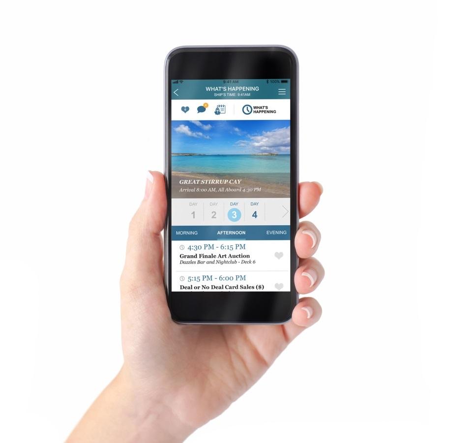 Conoce todo lo que puedes hacer con los Apps de Norwegian Cruise Line