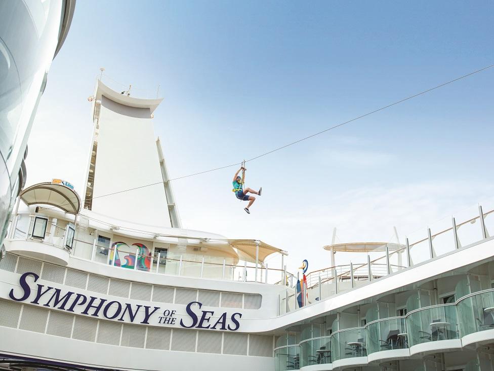 El Symphony of the Seas es perfecto para familias