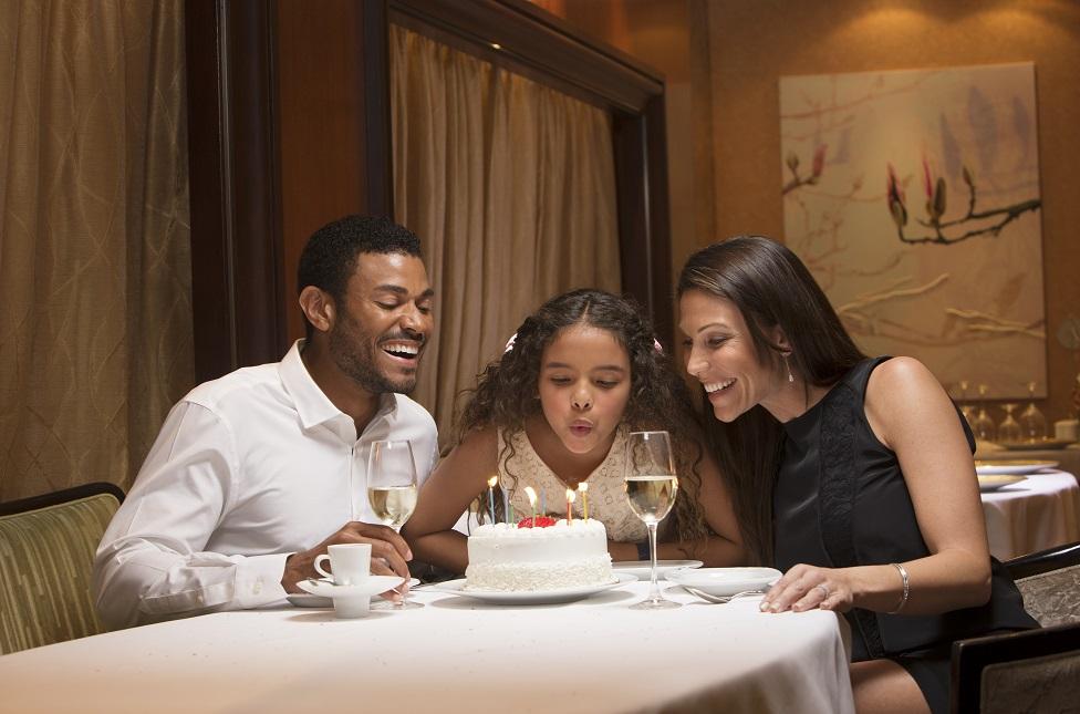 Cómo celebrar cumpleaños o aniversario de boda en cruceros
