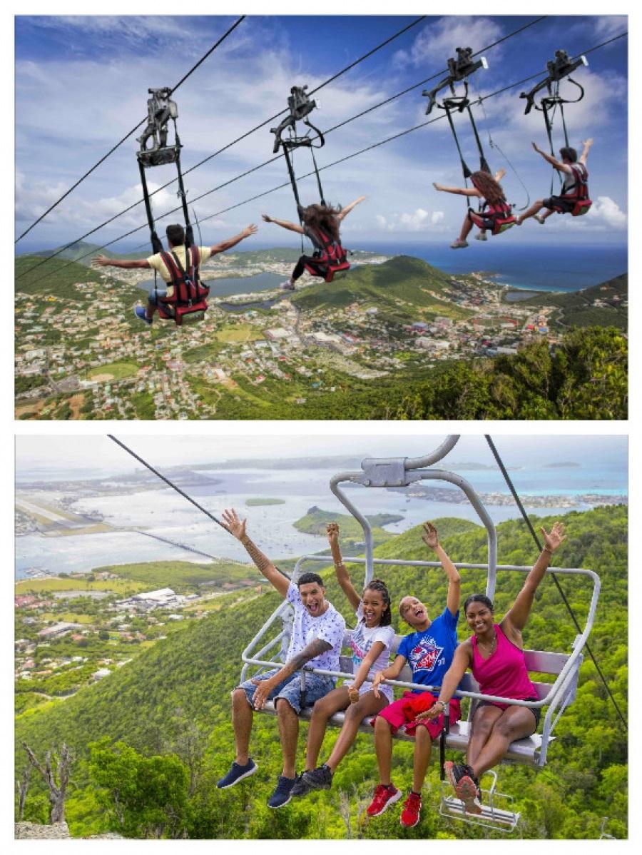 Atracción en St. Maarten