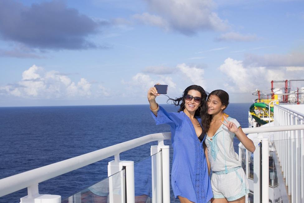 Viajando en crucero con teenagers